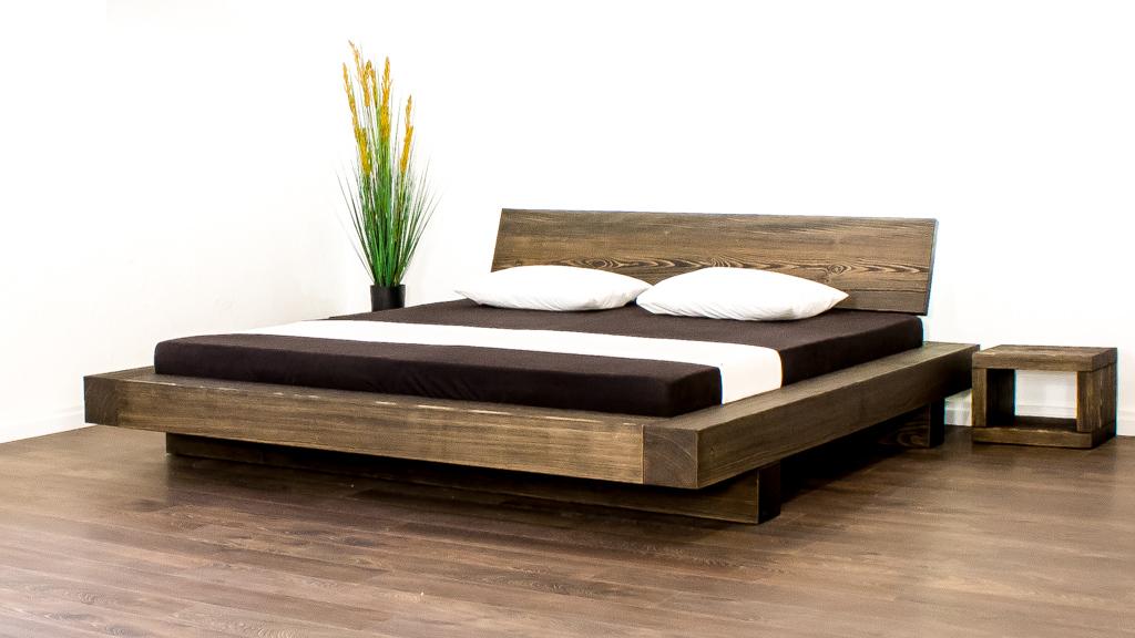 Ein Balkenbett oder auch Massivholz Bett 180x200 cm