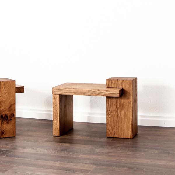 Beistelltisch aus Holz von farao design